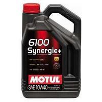 Моторное масло, MOTUL 6100 Synergie +, 10W-40, 5 литр.