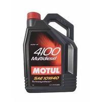 Моторное масло, MOTUL 4100 Multi Diesel, 10W-40, 5 литр.
