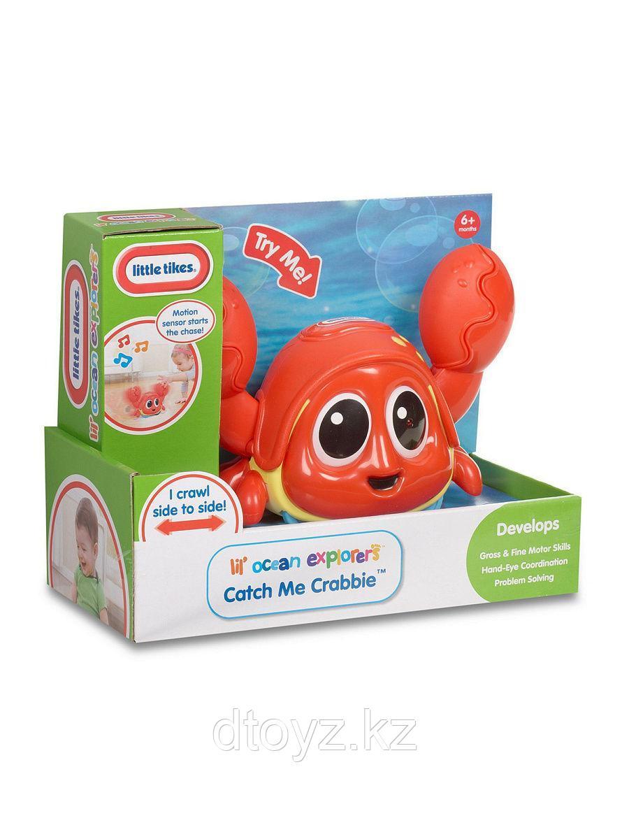 Little Tikes Интерактивная игрушка Шустрый краб