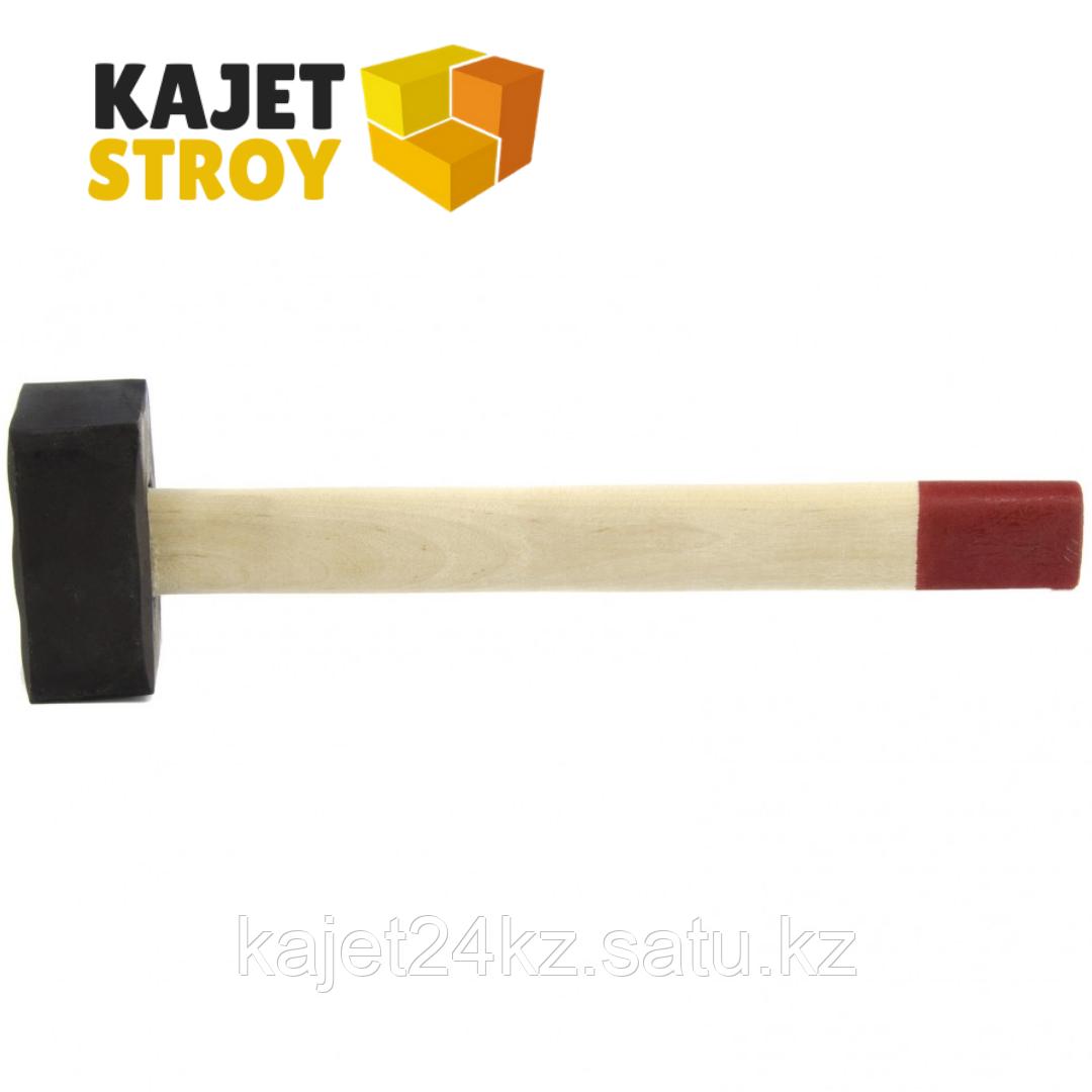 Кувалда, 4000 г, кованая головка, деревянная рукоятка (Павлово) // Россия
