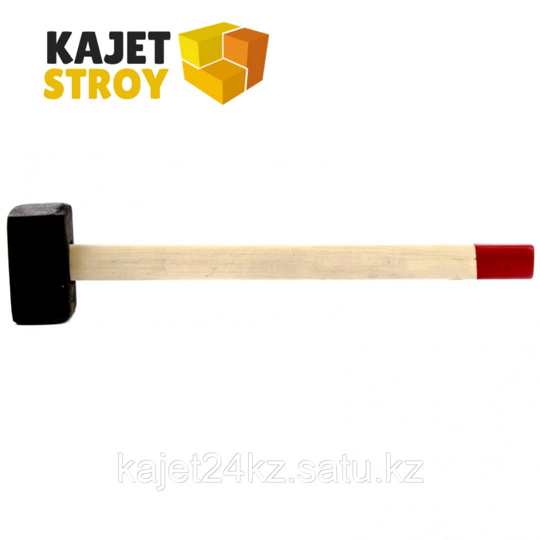 Кувалда, 7000 г, кованая головка, деревянная рукоятка (Павлово) // Россия