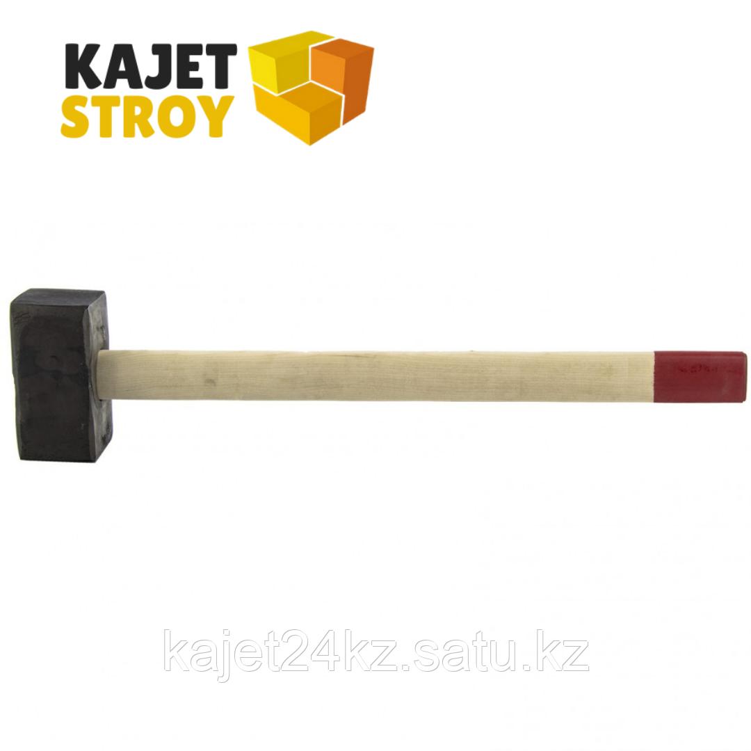 Кувалда, 8000 г, кованая головка, деревянная рукоятка (Павлово) // Россия