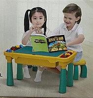 Столик для игр с конструктором 822, фото 1