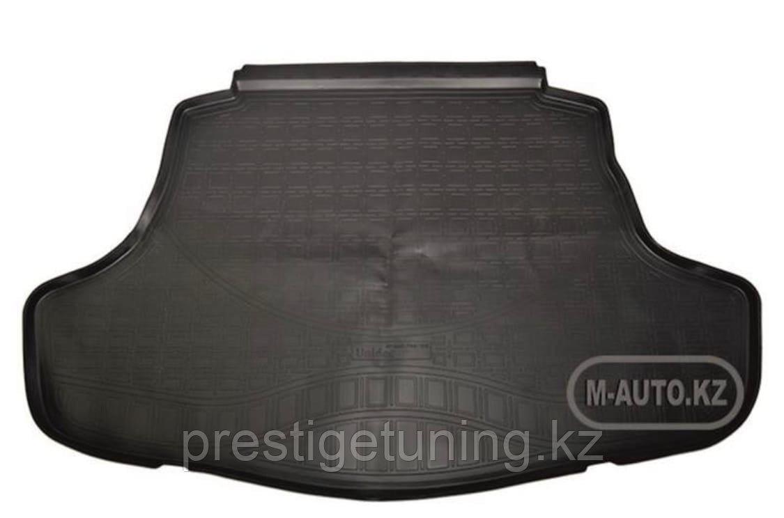 Резиновый коврик в багажник на Camry V70 2018-