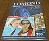 280g A3 20л Lomond СуперГлянцевая microporous L1104102 (20п.в кор)