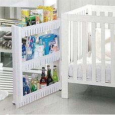 Полка для ванной на колесиках, фото 3