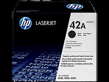 HP Q5942A Картридж лазерный черный HP 42A для LaserJet серий 4250/4350