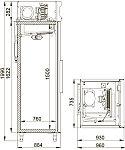Холодильный шкаф POLAIR CB107-S, фото 2