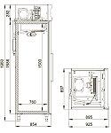 Холодильный шкаф POLAIR CM107-S, фото 2