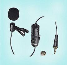 Петличный стерео микрофон от BOYA BY-M1 в комплекте, фото 3
