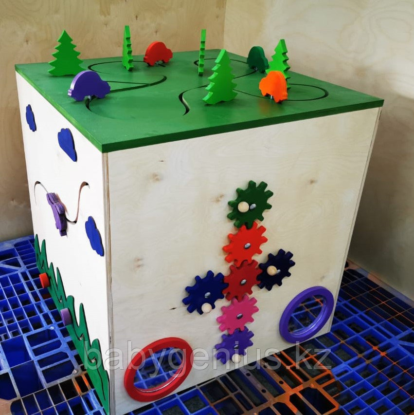 "Развивающий кубик ""Бизикуб"""