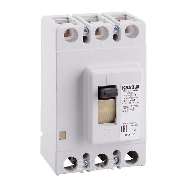 Автоматический выключатель ВА57-35 100А