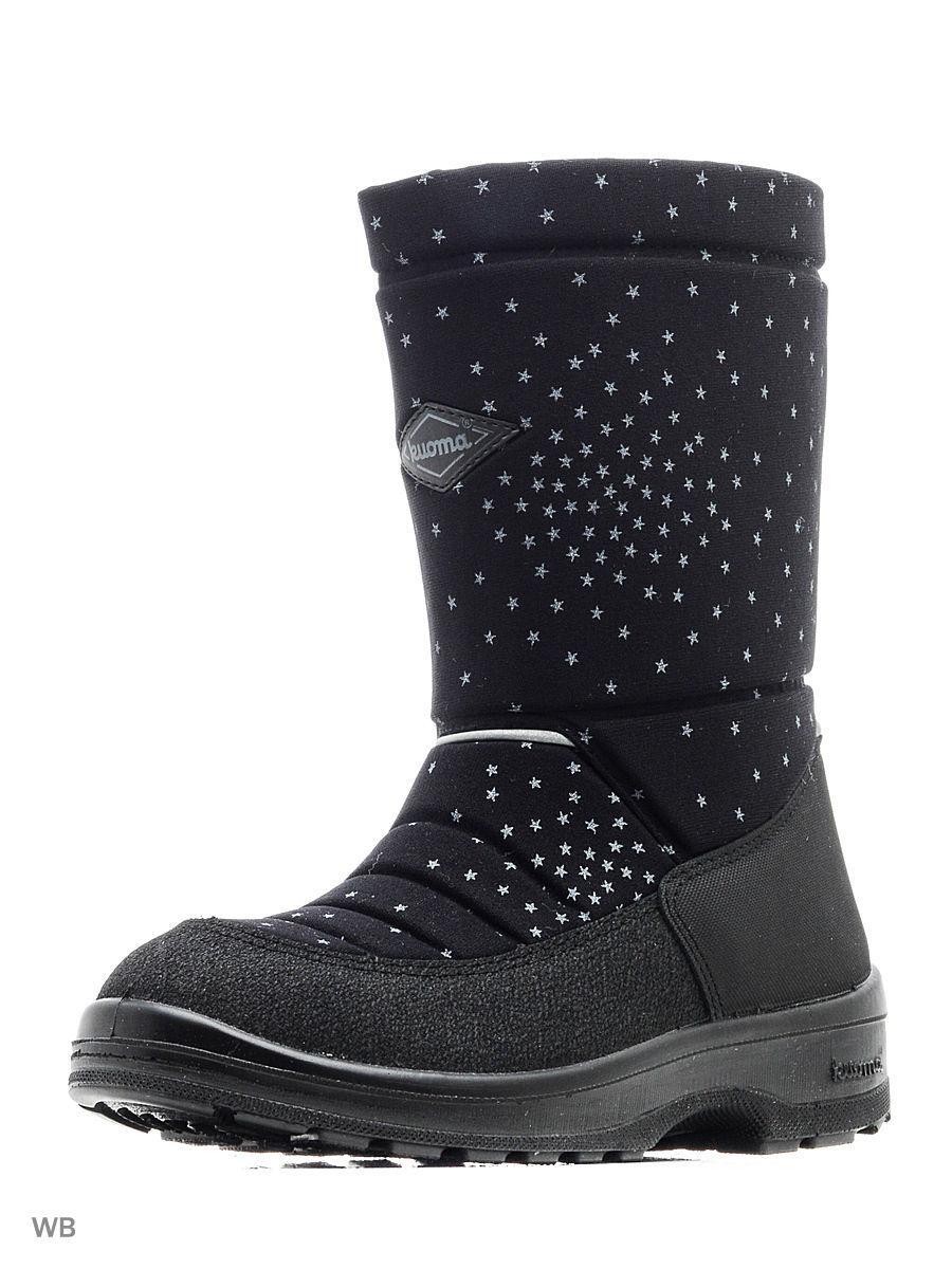 Обувь детская Kuoma Putkivarsi wool, Black Confetti - 24