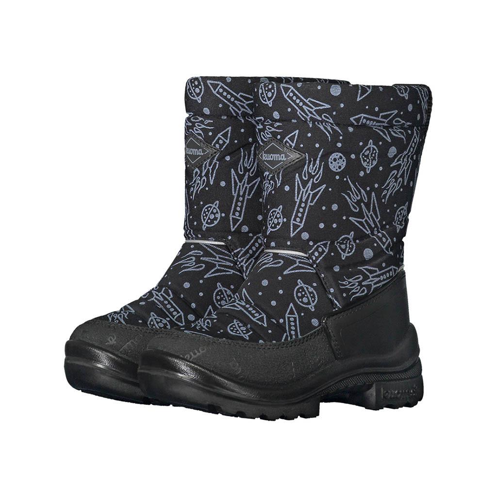 Обувь детская Kuoma Putkivarsi wool, Black Spaceship - 23