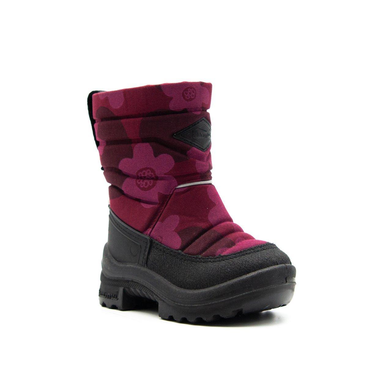 Обувь детская Putkivarsi wool, Bordeaux Flower - 23