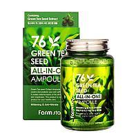 Многофункциональная сыворотка с экстрактом семян зеленого чая All in one Ampoule