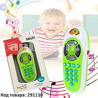 Интерактивная детская музыкальная игрушка пульт от телевизора K999 (116B)