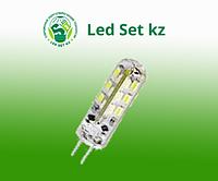 Лампа светодиодная LED-JCD-standard 2Вт 160-260В GY 6.35 3000К 150Лм ASD