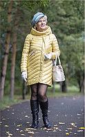 Куртка удлиненная весна-осень с капюшоном