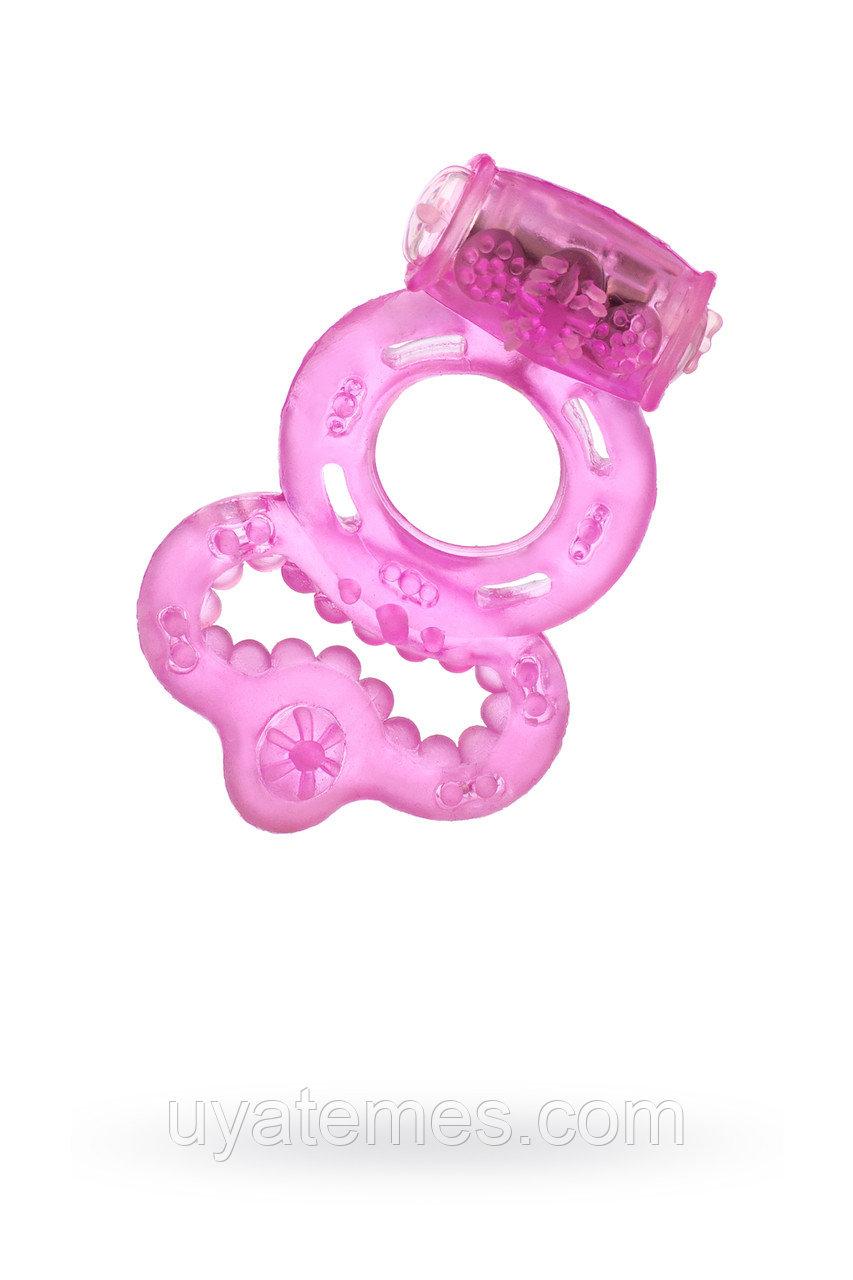 Виброкольцо TOYFA, TPE, розовый