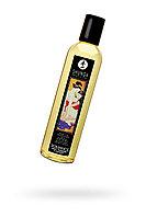 Масло для массажа Shunga Romance, натуральное, возбуждающее, с ароматом клубники и шампанского, 250 мл