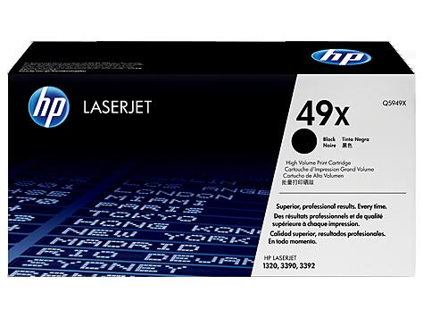 HP 49X  Картридж лазерный черный  Q5949X