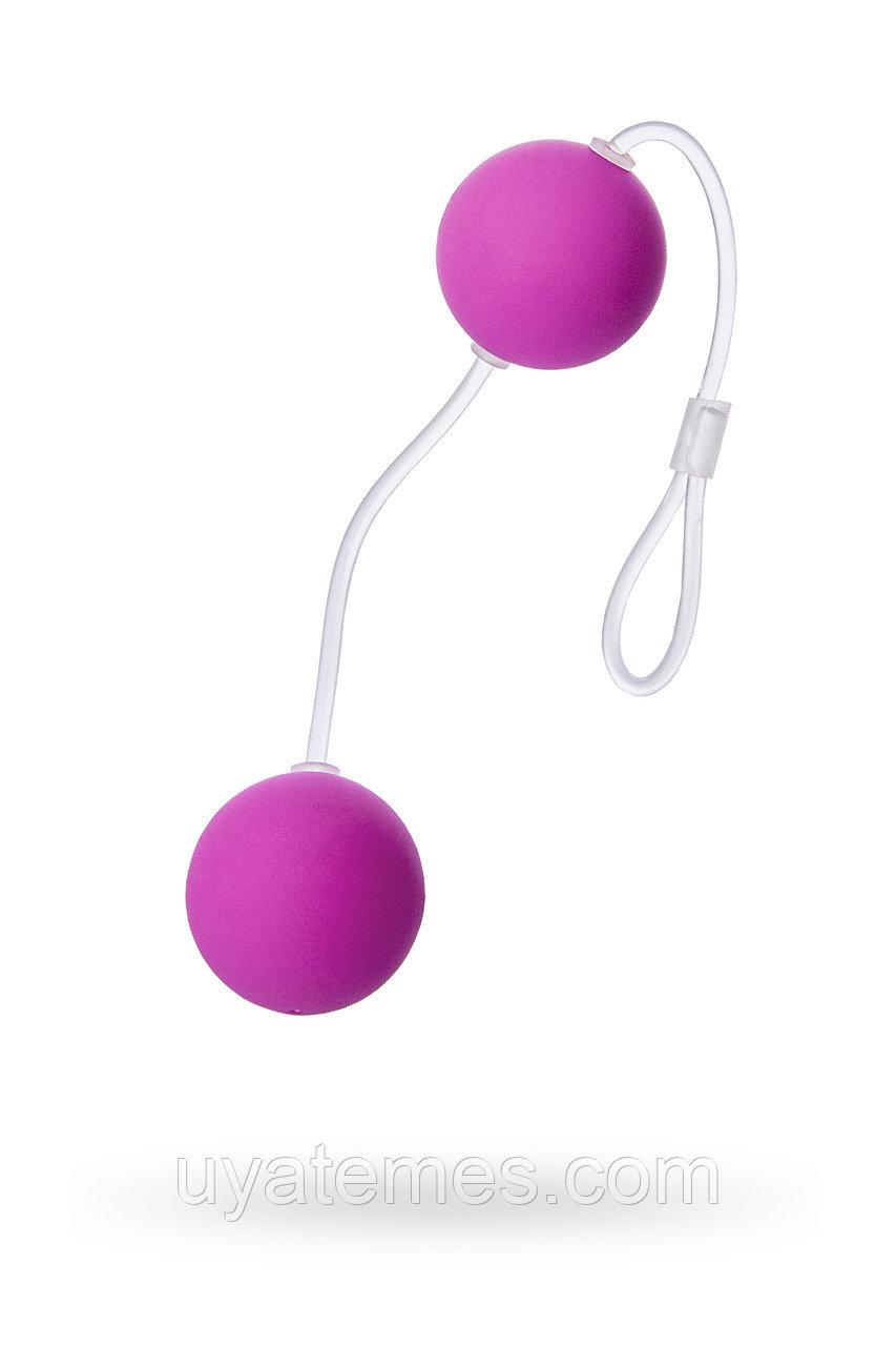Вагинальные шарики Sexus Funny Five, ABS пластик, Фиолетовый, Ø 3 см