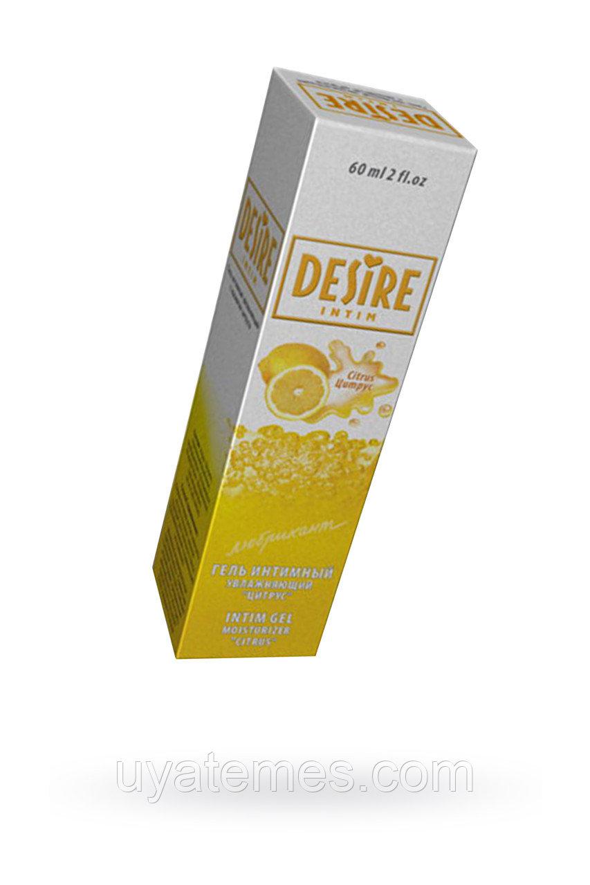 Гель-лубрикант Desire цитрус 60мл.