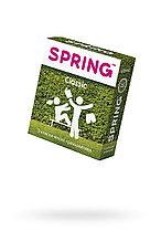Презервативы Spring Classic, классические, латекс, 17,5 см, 3 шт