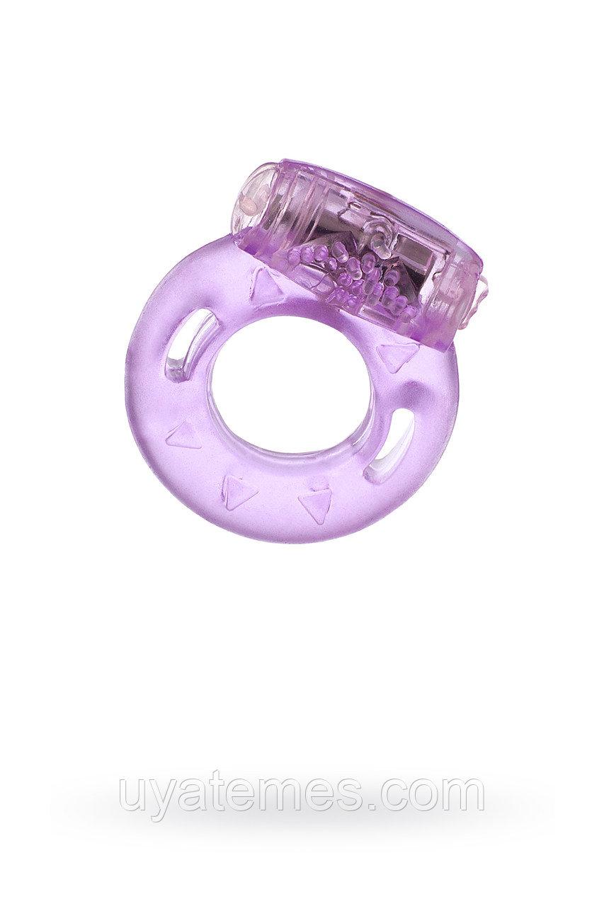 Виброкольцо TOYFA, TPE, фиолетовый