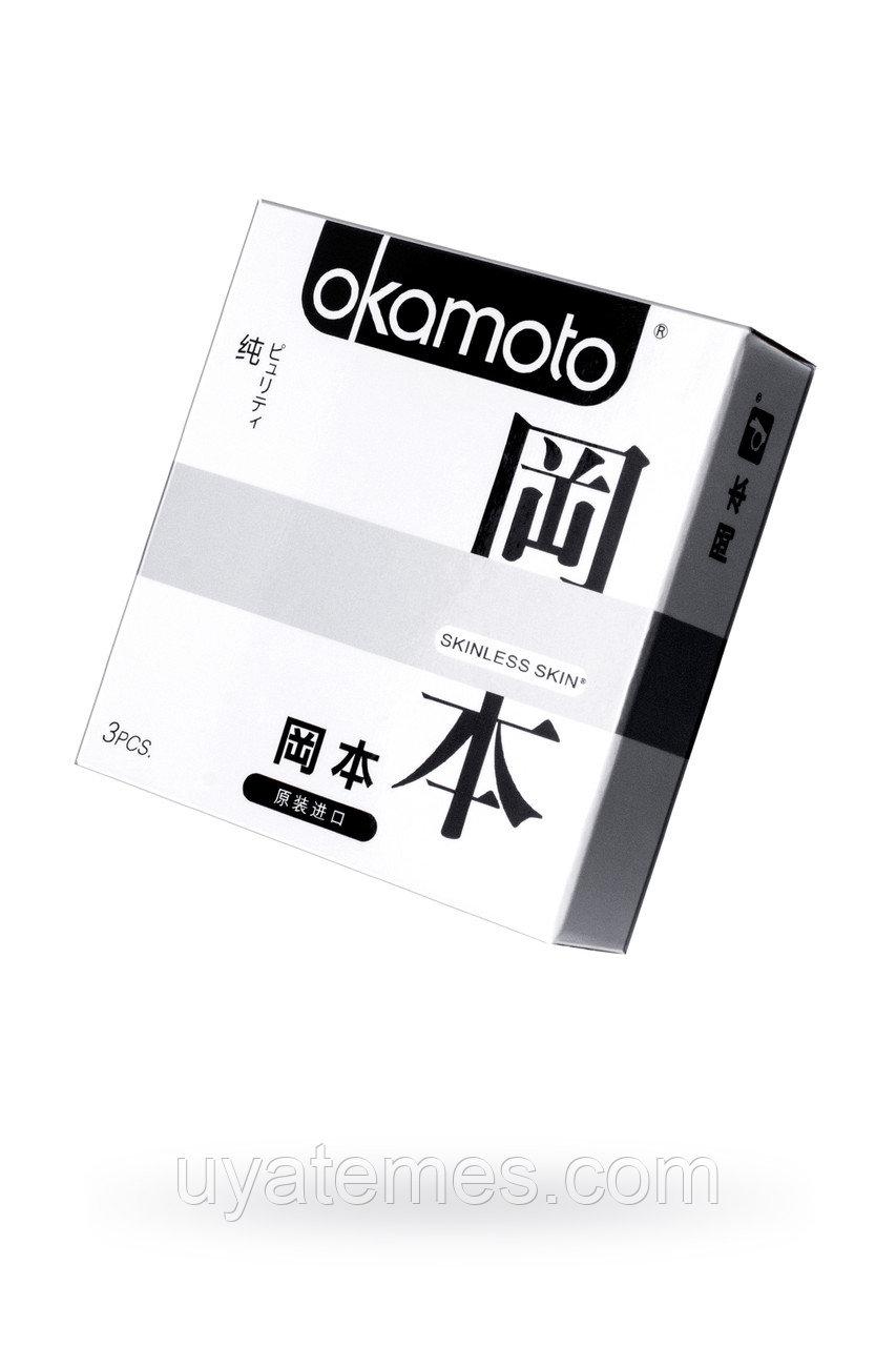 Презервативы Окамото серия Skinless Skin  Puriti №3 Сверх-тонкие, сверх-чувствительные