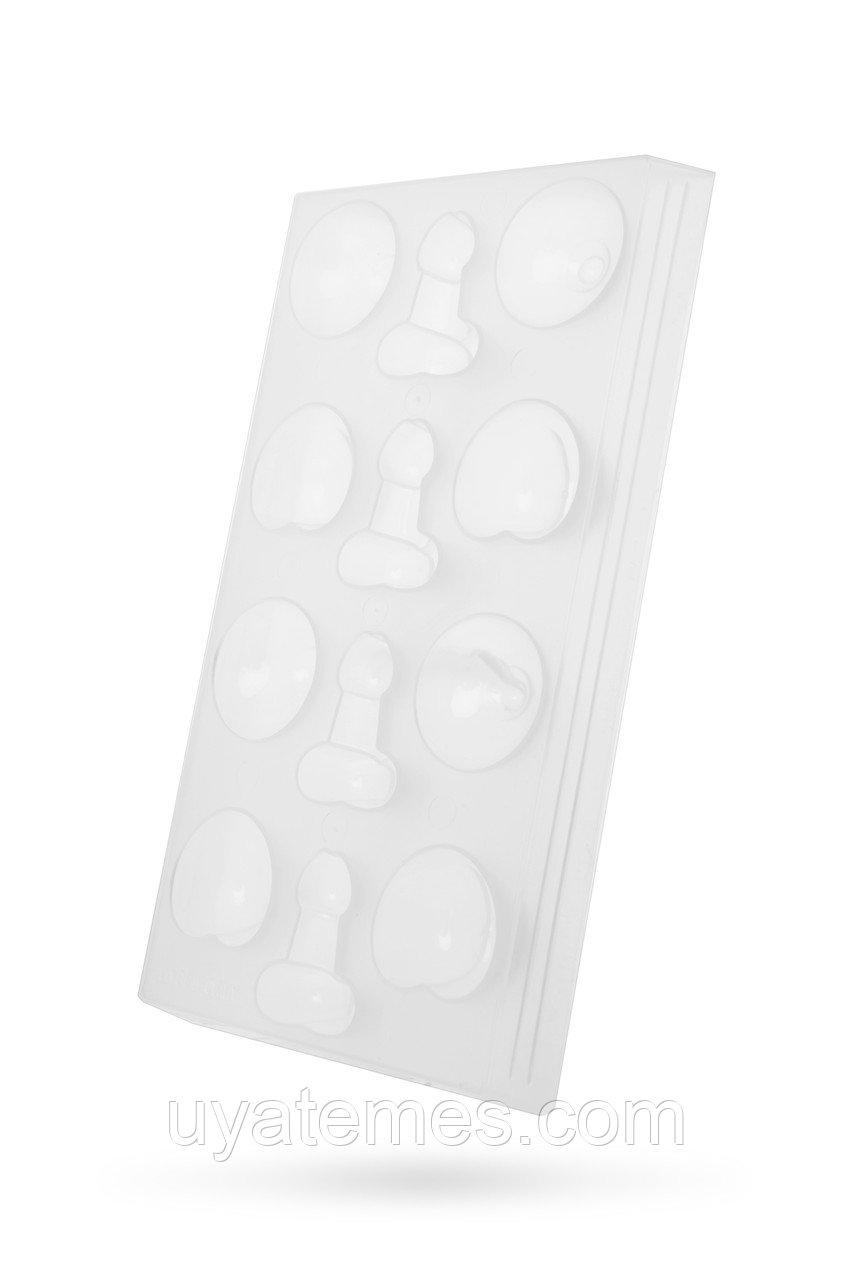Формочки для льда ''пенис и грудь''