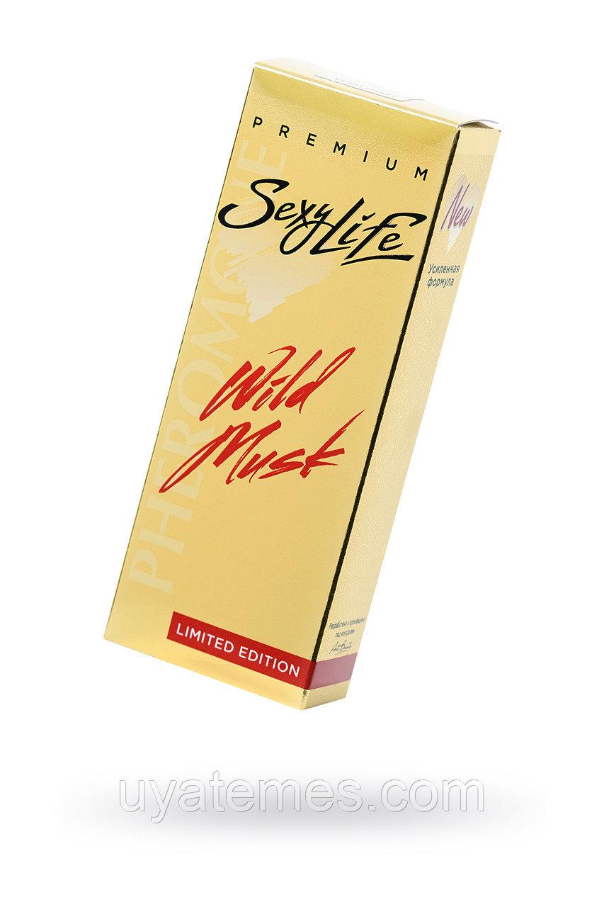 Духи с феромонами Wild Musk №8 философия аромата Blue Amber (Montale), женские, 10 мл