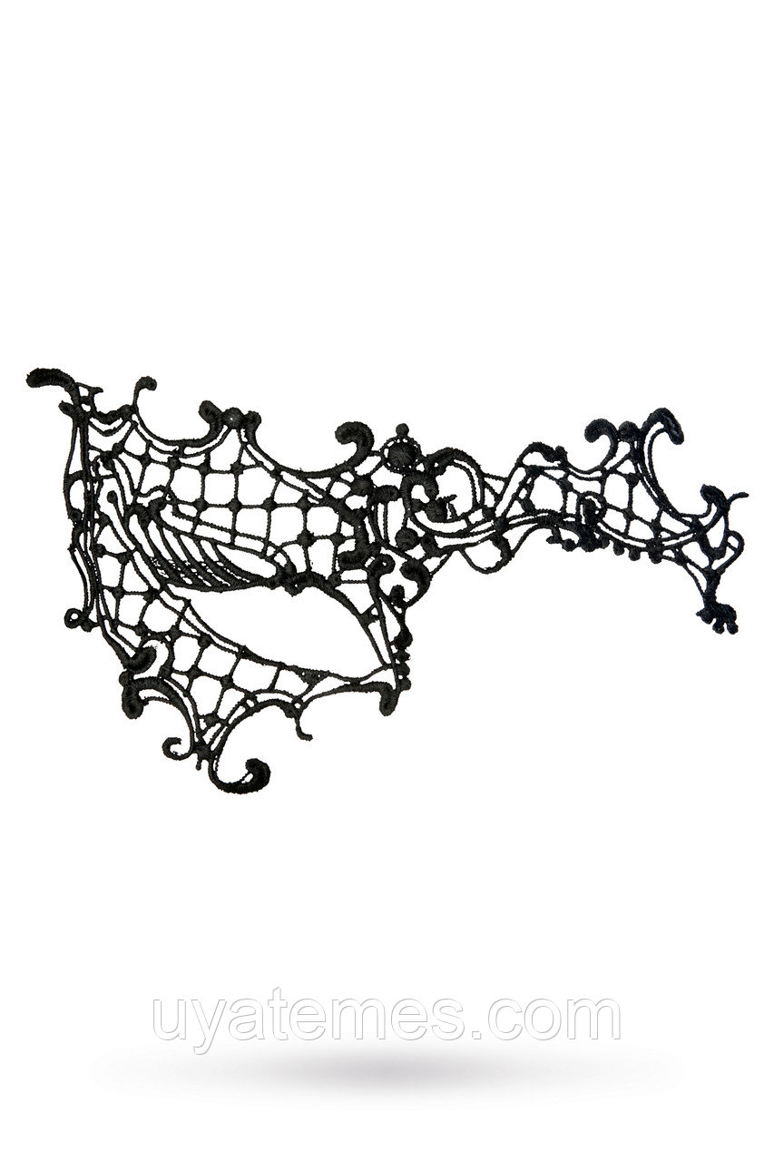 Маска нитяная Toyfa Theatre «Асимметрия», текстиль, черная