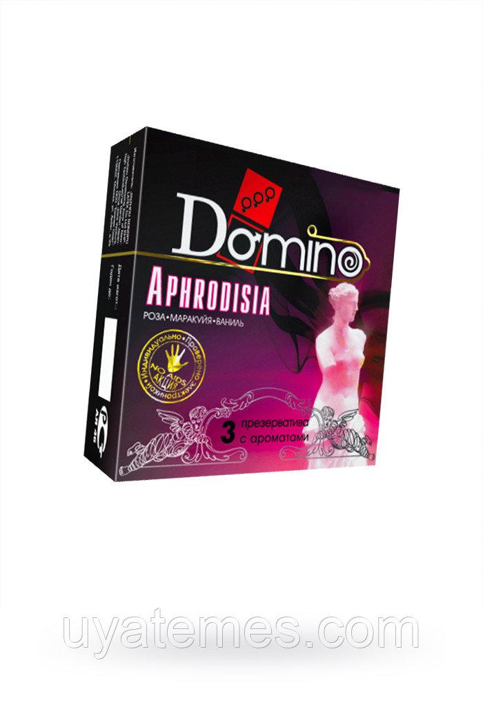 Презервативы Luxe DOMINO PREMIUM Aphrodisia, роза, маракуйя, ваниль, 3 шт. в упаковке