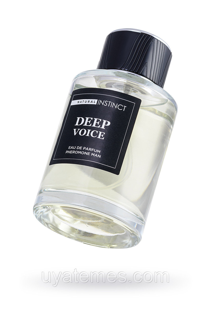 Парфюмерная вода с феромонами  Natural Instinct  ''Deep Voice''  мужская 100 мл