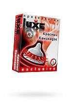 Презервативы Luxe Exclusive Красный камикадзе №1, 1 шт.