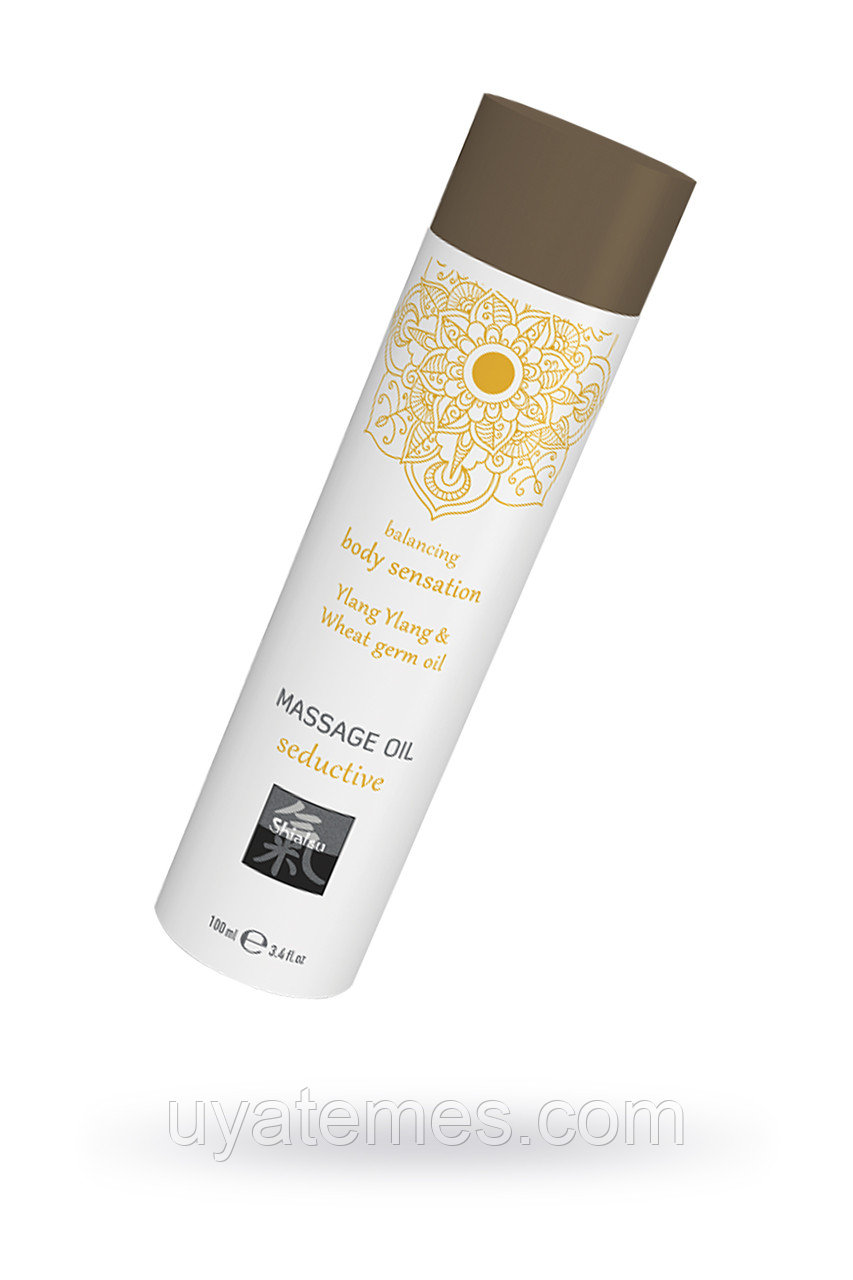 Массажное масло seductive - Иланг иланг и масло зародышей пшеницы, 100 мл.