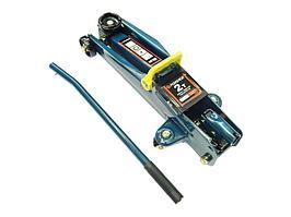 F-TH22001CB Forsage Домкрат подкатной  гидравлический 2 т (h min 135мм, h max 385мм) с резиновой накладкой Forsage F-TH22001CB