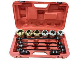 F-933T1(-04B2031) Forsage Набор инструментов для снятия и установки втулок, подшипников и сайлентблоков универсальный, 26 предметов (М10, М12, М14,