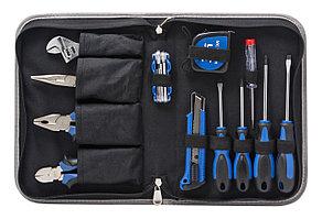PA-5517 Partner Набор инструмента 17 предметов(шарнирно-губцевый+отвертки,рулетка) в сумке Partner PA-5517