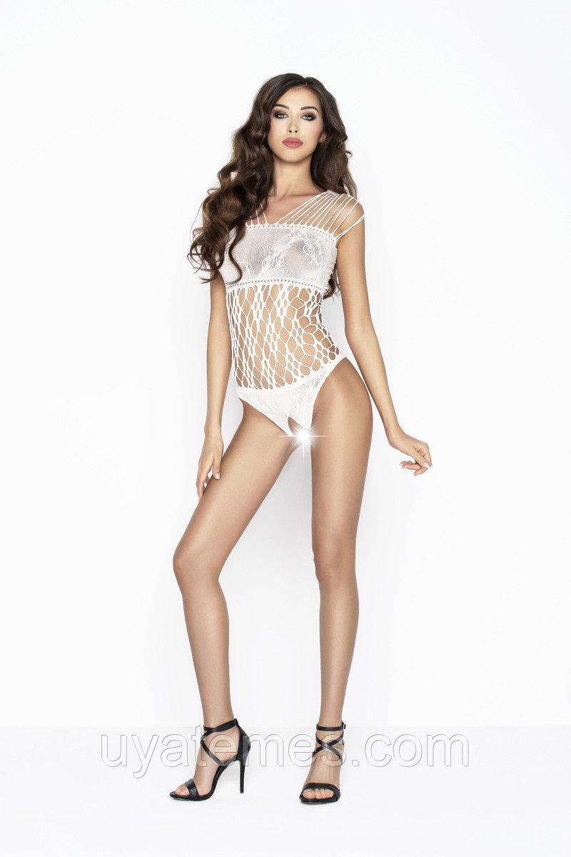 Боди-сетка Passion Erotic Line, белое, OS