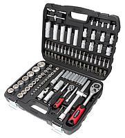 MT-4108 MARSHAL Набор инструментов 108 предметов 1/2'', 1/4'' (6гр.)(4-32мм) MARSHAL MT-4108