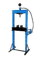 KT-0500-3 Kingtul profi Пресс гидравлический 20т с манометром и выносным насосом (размер:182x70x60см,диапазон работ: 0-115см,ход поршня:14,5см)