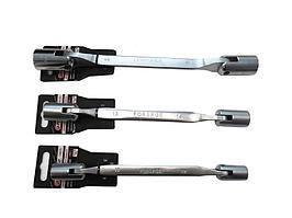 F-7520607 Forsage Ключ торцевой шарнирный двухсторонний 6х7мм на пластиковом держателе Forsage F-7520607