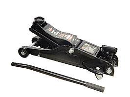 ROCKFORCE Домкрат подкатной гидравлический 2.5т низкопрофильный с поворотной ручкой 360°   (h min 89мм, h max 359мм), в кейсе ROCKFORCE