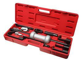 ROCKFORCE Молоток обратный для кузовных работ с набором насадок, 9 предметов ROCKFORCE RF-665B