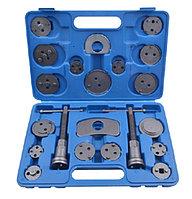 ROCKFORCE Набор для обслуживания тормозных цилиндров 21 предмет (право/левосторнний привод) в кейсе ROCKFORCE RF-65806