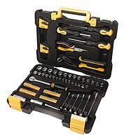 """30108 WMC tools Набор инструментов 108 предметов 1/4"""" 3/8""""(6гр.)(4-19мм) WMC TOOLS 30108"""