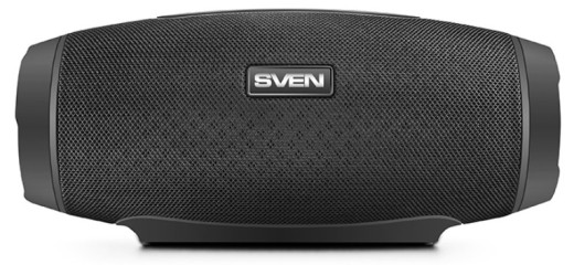 Беспроводная колонка SVEN PS-330 черный - фото 1